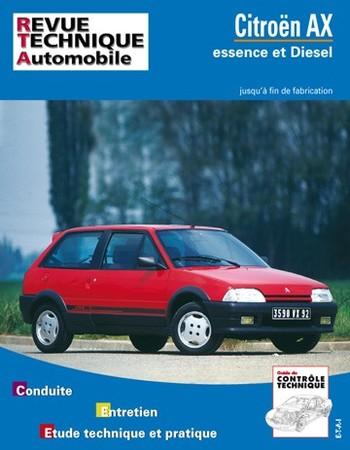 Revue Technique Citroën AX