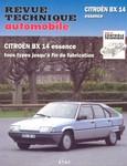 Revue Technique Citroën BX 14 essence