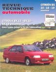 Revue Technique Citroën BX 15 16 19