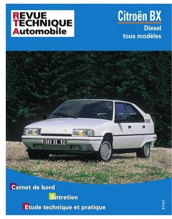 Revue Technique Citroën BX diesel