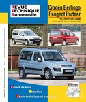 Revue Technique Citroën Berlingo I et Peugeot Partner I phase 2