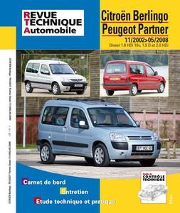 Revue Technique Citroën Berlingo I et Peugeot Partner I phase 2