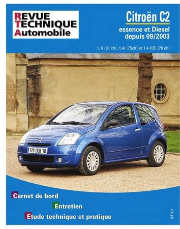 Revue Technique Citroën C2 phase 1