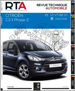 Revue Technique Citroën C3 II phase 2 essence