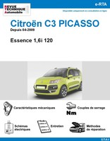Revue Technique Citroën C3 Picasso Essence