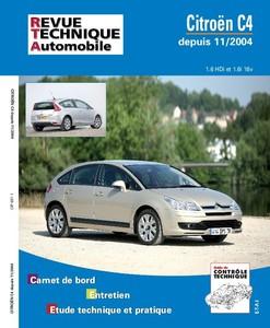 Revue Technique Citroën C4 I phase 1