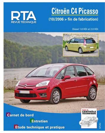 Revue Technique Citroën C4 Picasso I et C4 Grand Picasso I