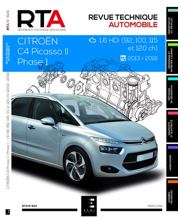Revue Technique Citroën C4 Picasso II phase 1 HDi