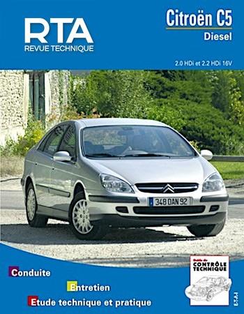 Revue Technique Citroën C5 I phase 1
