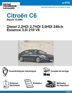 Revue Technique Citroën C6