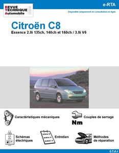 Revue Technique Citroën C8 essence