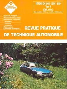 Revue Technique Citroën CX
