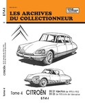Revue Technique Citroën DS 21 injection, DS 23