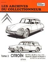 Revue Technique Citroën ID 19 B, ID 20, DSpécial, DSuper et DSuper 5