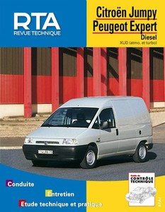 Revue Technique Citroen Jumpy I ph.1 et Fiat Scudo I ph. 1et Peugeot Expert I ph. 1