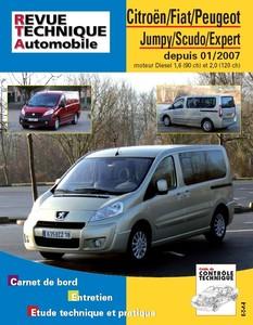 Revue Technique Citroën Jumpy II, Peugeot Boxer II et Fiat Scudo II
