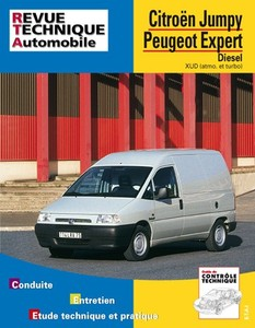 Revue Technique Citroen Jumpy et Fiat Scudo et Peugeot Expert diesel
