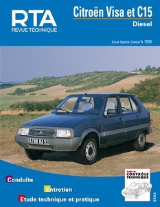 Revue Technique Citroën Visa et C15