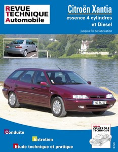 Revue Technique Citroën Xantia