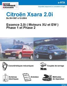 Revue Technique Citroën Xsara 2.0i (Moteurs XU et EW)