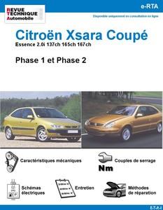 Revue Technique Citroën Xsara Coupé 2,0i et VTS