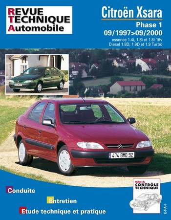Revue Technique Citroën Xsara phase 1