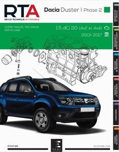 Revue Technique Dacia Duster I phase 2 dCi