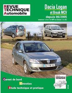 Revue Technique Dacia Logan I et MCV