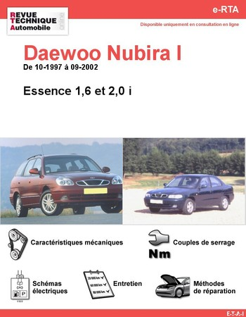 Revue Technique Daewoo Nubira
