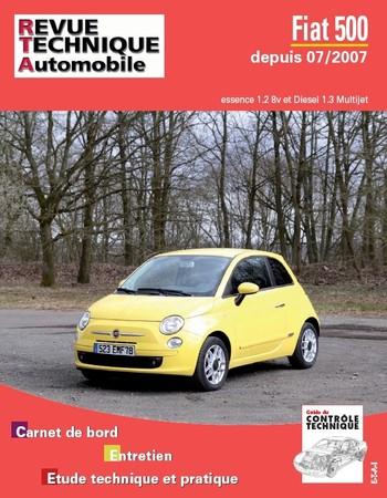 Revue Technique Fiat 500 depuis 2007