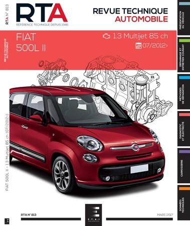 Revue Technique Fiat 500L phase 1