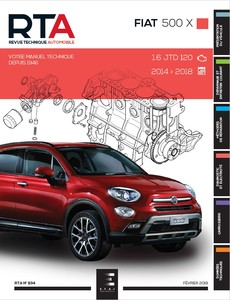 Revue Technique Fiat 500X phase 1
