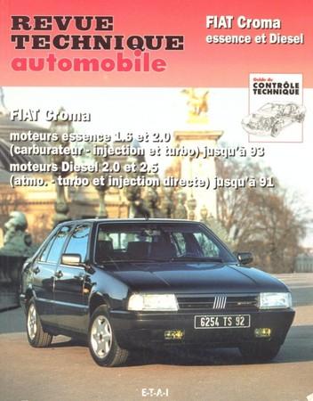 Revue Technique Fiat Croma I