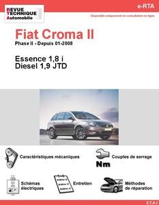 Revue Technique Fiat Croma II