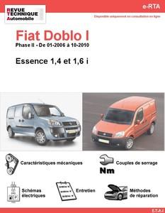 Revue Technique Fiat Doblo I essence