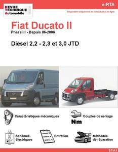 Revue Technique Fiat Ducato II diesel