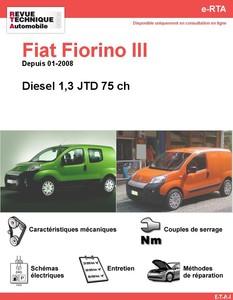 Revue Technique Fiat Fiorino III diesel