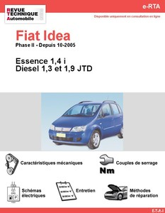 Revue Technique Fiat Idea