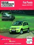 Revue Technique Fiat Panda depuis 2003