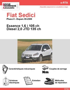 Revue Technique Fiat Sedici