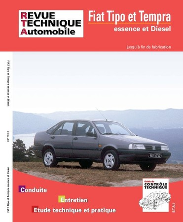 Revue Technique Fiat Tipo I et Tempra