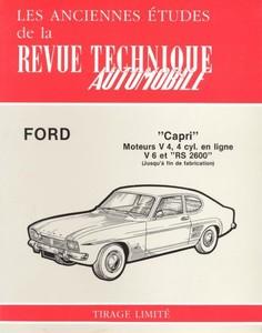 Revue Technique Ford Capri