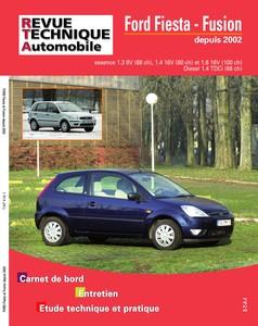 Revue Technique Ford Fiesta V ph. 1 et Fusion ph. 1