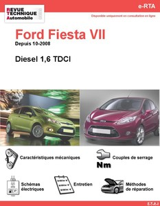 Revue Technique Ford Fiesta VI diesel