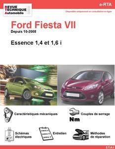 Revue Technique Ford Fiesta VI essence