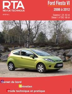 Revue Technique Ford Fiesta VI phase 1