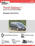 Revue Technique Ford Galaxy I essence