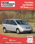 Revue Technique Ford Galaxy, Seat Alhambra et Volkswagen Sharan