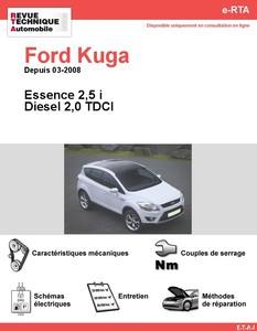 Revue Technique Ford Kuga