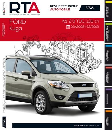 Revue Technique Ford Kuga I